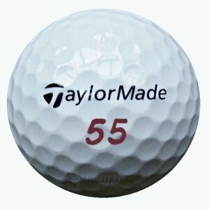 50-TaylorMade-Project-a-Golfbaelle-im-Netzbeutel-AAA-AAAA-Lakeballs-2x-25-Baelle