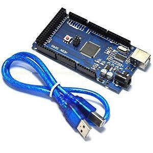 1pcs Mega 2560 ATmega2560-16AU Board + Free USB Cable For