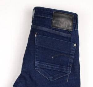 G-STAR RAW Damen Freizeit Enge Jeans Größe W30 L32 ATZ1381