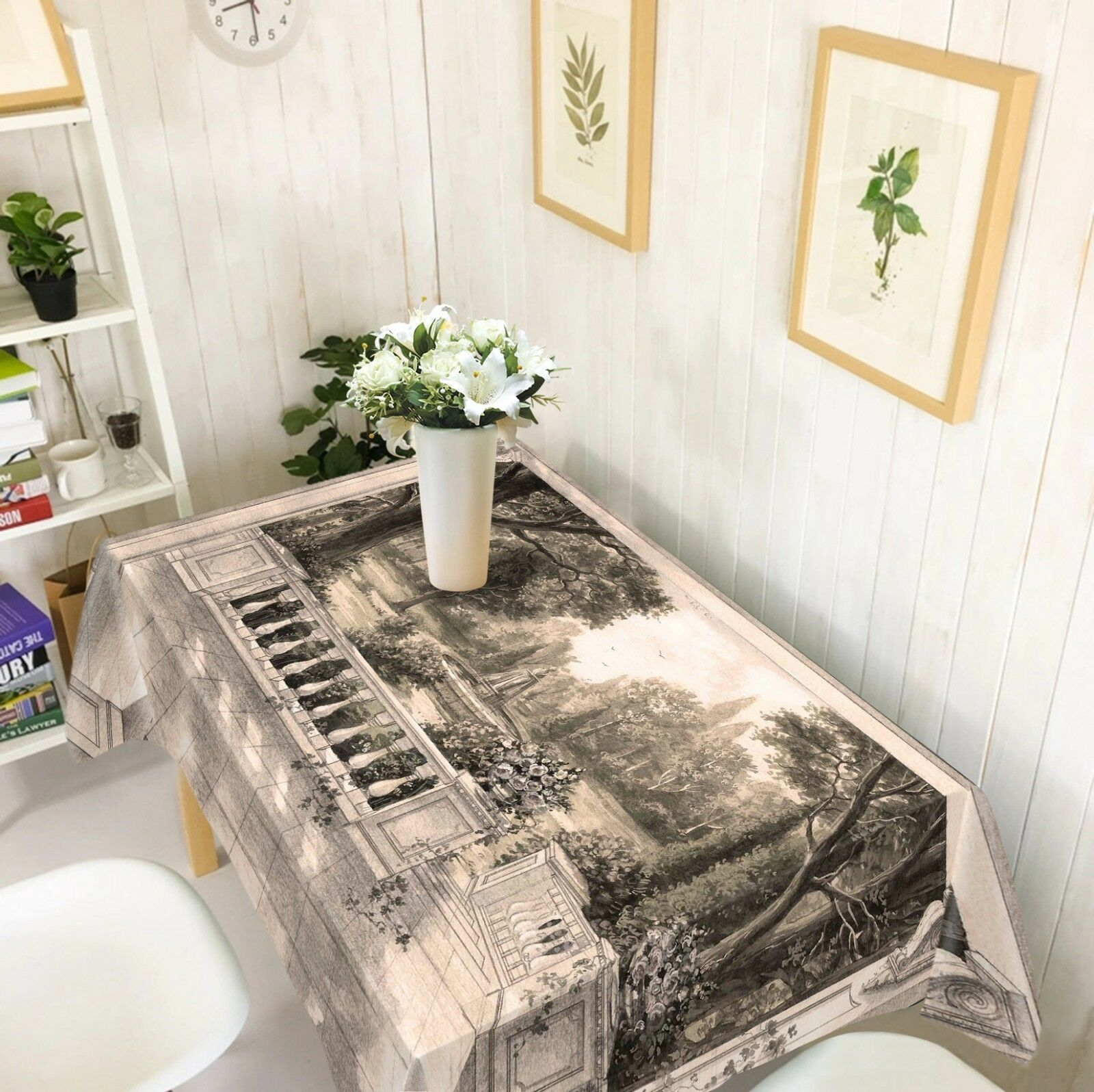 3D Sketch Park 047 Tablecloth Table Cover Cloth Birthday Party Event AJ Summer