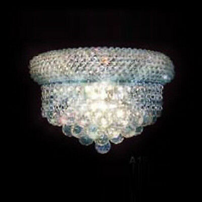 "New Crystal Chandelier Chandeliers Lighting 12""X6"""