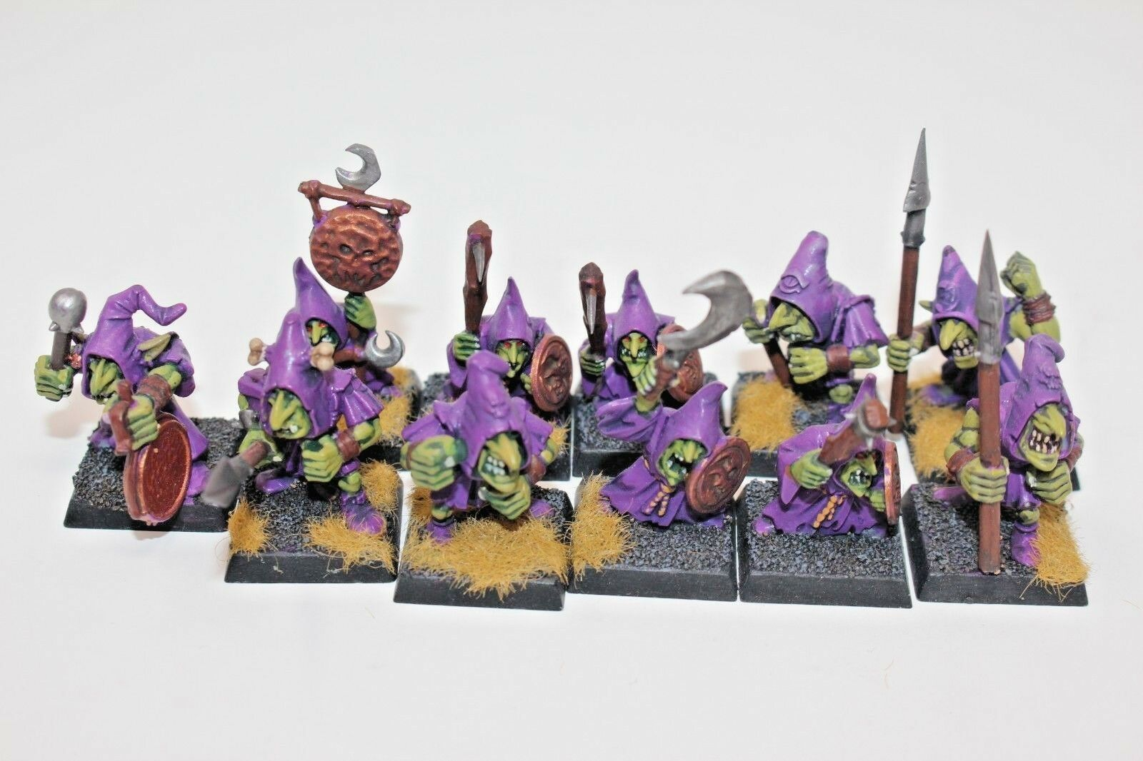 Warhammer Orcs and Goblins Night Goblins Well Painted - JYS62