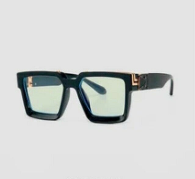 Classic Plain glasses black and gold