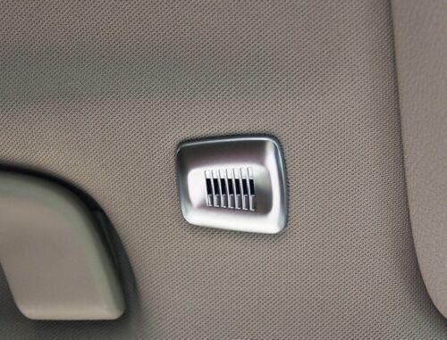 BMW X3 F25 X4 F26 X5 F15 F16 2014 2015 Chrome Interior Roof Dome mic Cover trim