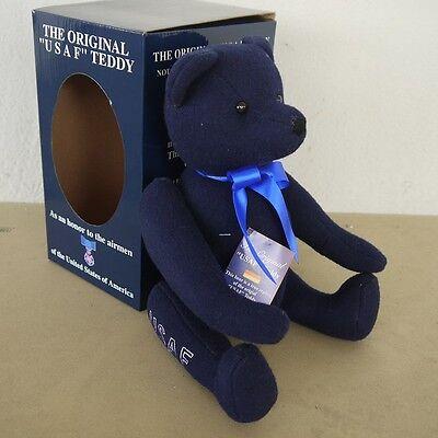 The Original Usaf Teddy Bear Us Airforce Luftwaffe Bär Blue Blau Dinge Bequem Machen FüR Kunden