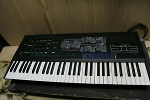 Crumar Bit One 1 Vintage Synthesizer Mega Rare flightcased GWO Superb condition