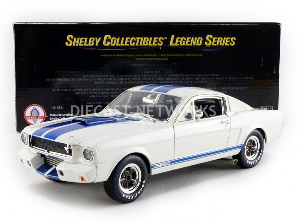 SHELBY SHELBY SHELBY COLLECTIBLES 1/18 FORD MUSTANG SHELBY GT 350 R SHELBY168   Good Design  407e34