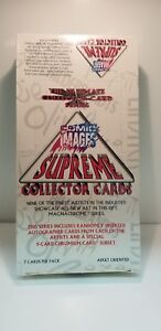 Supreme-Comic-Images-Collector-Collectible-Trading-Card-Unopened-Pack-Box