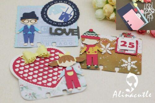 Metal Cutting Dies Cut 9pcs Memory Tabs Rolodex Oose Leaf Tag Craft Card Stencil