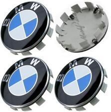 4 Tappi Coprimozzo Logo BMW 68mm Serie 1 2 3 4 5 6 7 M Z X Borchie cerchi Lega