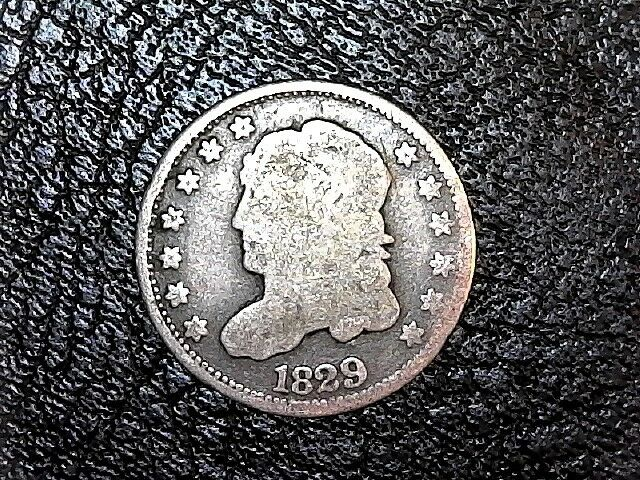 1829 H10C Capped Bust Half Dime