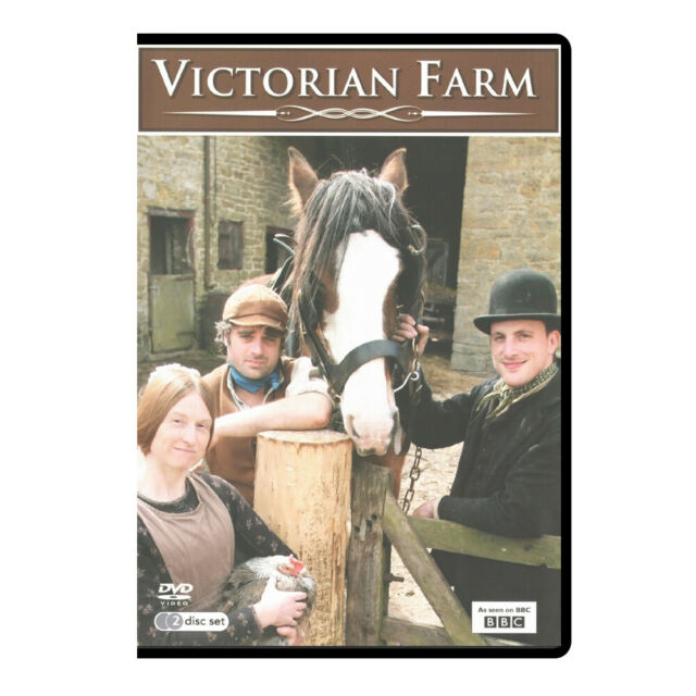 Victorian Farm (2009), Ruth Goodman, Peter Ginn (New, Factory Sealed)