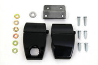 Black Touring Pack Luggage Latch Kit For Harley Touring Models 2006 - 2013