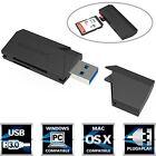 Sabrent SuperSpeed 2-Slot USB 3.0 Flash Memory Card Reader [Black] (CR-UMSS)