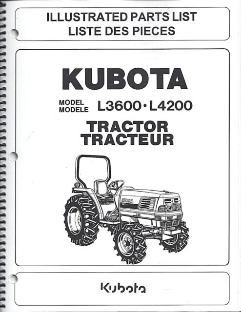 Surprising Kubota L3600 L4200 Tractor Illustrated Parts Manual 97898 21610 For Wiring Digital Resources Bemuashebarightsorg