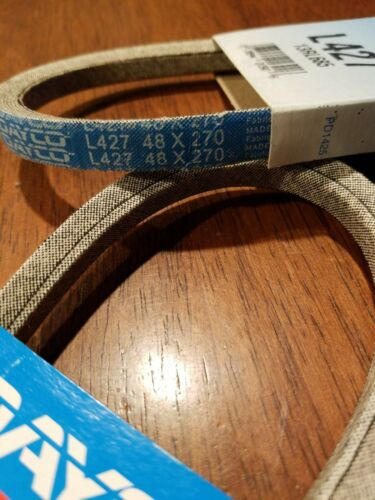 LOT OF 2 Dayco L427 GPL Premium V-Belt  NEW