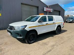 2016 (66) Toyota Hilux Active 2.4D-4D Double Cab 4x4 *CANOPY * TOW BAR * LINER