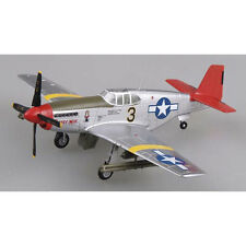 """MRC EASY MODEL 1/72 P-51C MUSTANG FIGHTER """"RED TAILS"""" Tuskegee Airmen 39202"""