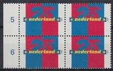 Niederlande 2000 ** Mi.1773 Bl/4 freimarke definitive Ziffer [st2510]