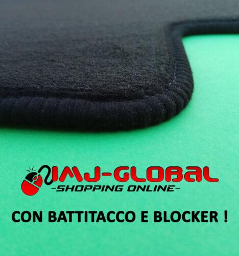 Tappetini Tappeti in Moquette Velluto Lancia Ypsylon 2003-2011 con battitacco