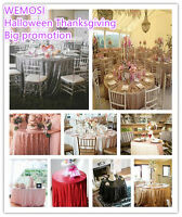 90 Round Sequin Wedding Tablecloth For Happy Christmas More Color Avaliable