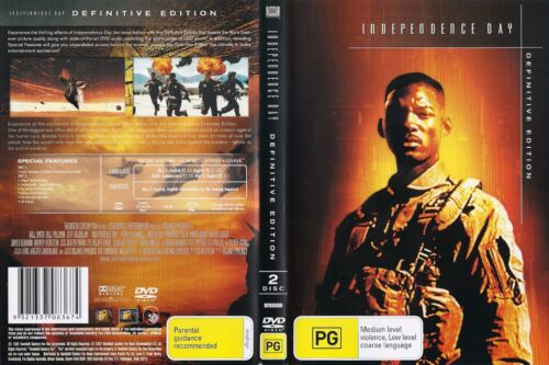 1 of 1 - INDEPENDENCE DAY - 2 DISC DEFINITIVE EDITION - WILL SMITH - JEFF GOLDBLUM - REG.