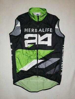 Voler Herbalife 24 Race Raglan Ripstop Cycling Jersey Sleeveless Vest Men M NWOT