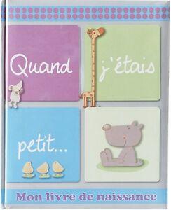 Details Sur Barbacado Livre Naissance Quand J Etais Petit Journal De Naissance Bebe 48 Pages