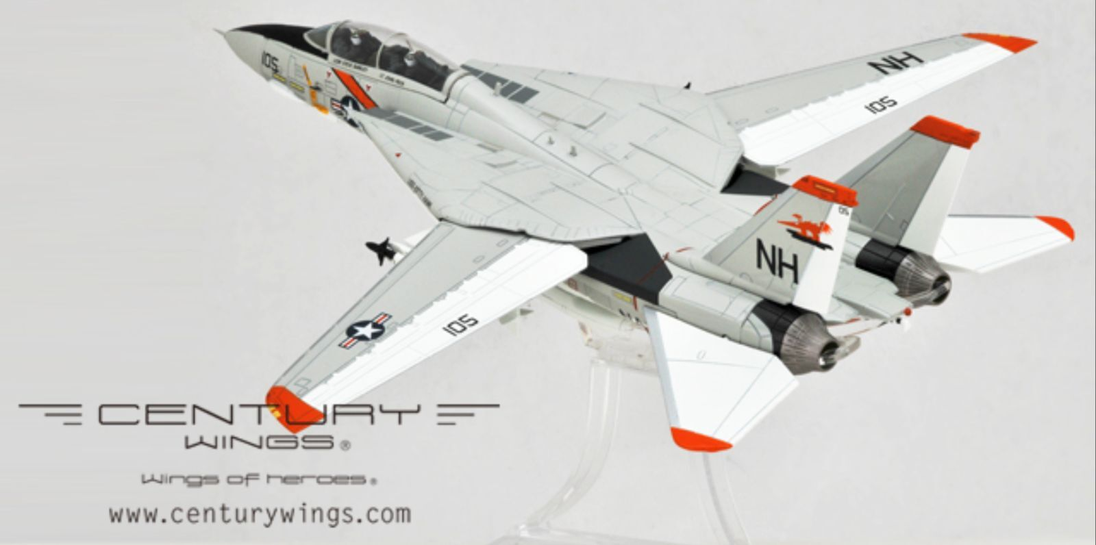 Century Wings 001618 F-14A F-14 Tomcat VF-114 Aardvarks NH105 1978