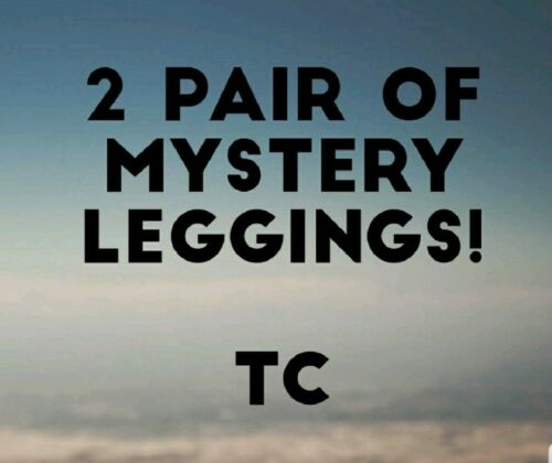 NEW LuLaRoe TC TALL CURVY Mystery Prints Leggings  2 pair!