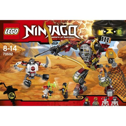 Neu und original verpackt Lego 70592 Ninjago Schatzgräber M.E.C