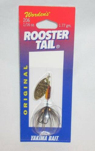 Wordens Yakima Bait 1//16 oz Brown Trout Rooster Tail Spinner Fishing Lure