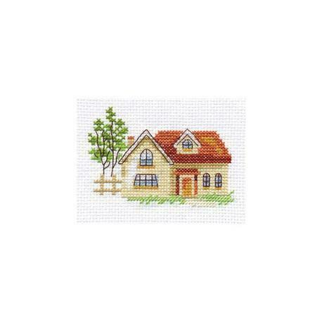Sunny House Alisa Counted Cross Stitch Kit