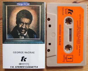 GEORGE-McCRAE-GEORGE-McCRAE-TKR-40-82509-1978-ITALY-CASSETTE-TAPE-VG-COND