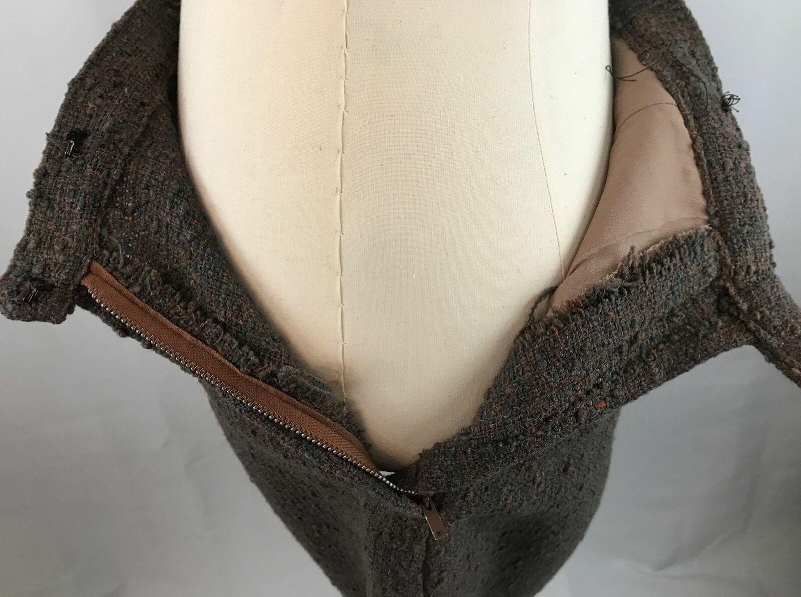 Vintage Bonnie Cashin Leather Jacket and Skirt Se… - image 10