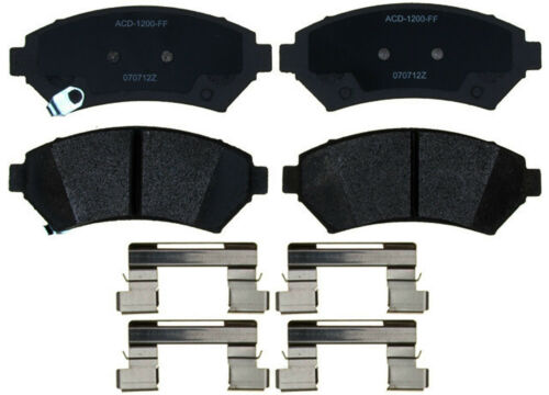 Disc Brake Pad Set-Semi Metallic Disc Brake Pad Front ACDelco Advantage 14D699MH