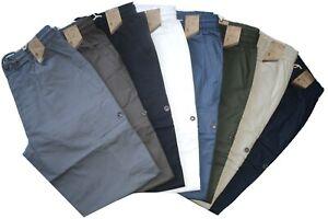 Pantalone-uomo-taglia-M-L-XL-XXL-XXXL-tasconi-cotone-confort-SEA-BARRIER-ISOLA