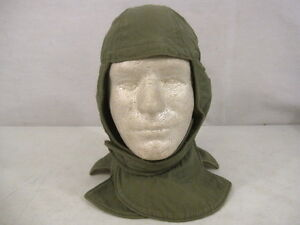 Details about Vietnam US Army Cold Weather Insulating Helmet Liner Cap SZ 6  1/2 - Early 1960's