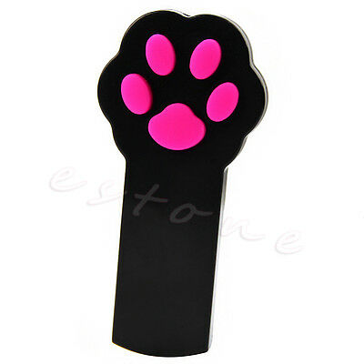 Funny Cute Pet Cat Dog Interactive Automatic Red Laser Pointer Claw Exercise Toy