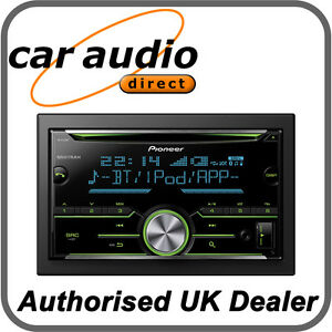 Pioneer-FH-X730BT-Double-DIN-Car-Stereo-CD-MP3-USB-Bluetooth-iPod-iPhone-Android