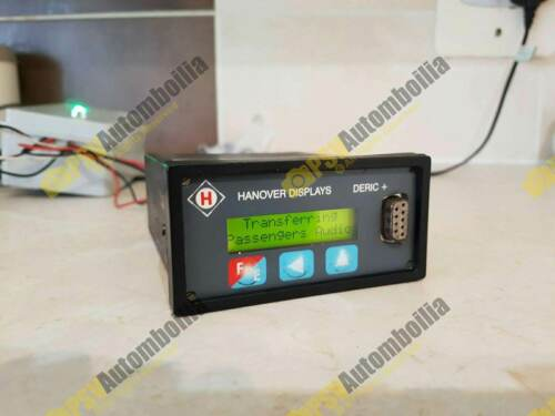 Hanover DERIC Destination Display Controller LED Flip Dot Bus Coach Sign RS232