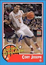 ET 2011-12 Fleer Retro Autographs #69 Cory Joseph RS
