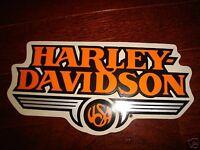 Harley Davidson Vintage Usa Decal Sticker Sm 5.25 X 2.5 (inside)new