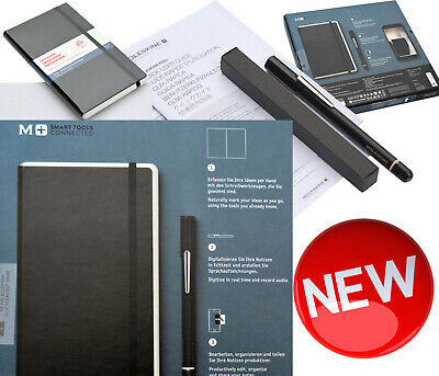 Moleskin Smart Writing Set Tablet Pen Smartpen Notes Digitaler Schreib-Stift