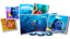 Finding-Dory-Blu-Ray-BIG-Sleeve-Edition-DVD-Art-Cards-Collectable-Gift-Idea-Set miniatura 3