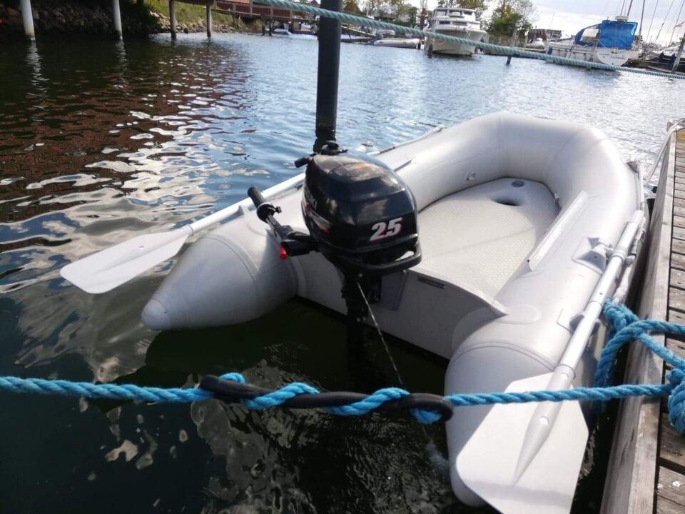 Gummibåd, Aqua Quick di-230 easyrider, 3 pers.
