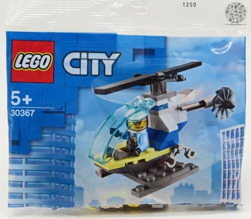 LEGO 30367 City Polizeihubschrauber Polybag Minifigur Einsatz │ NEU OVP MISB