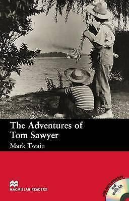 1 of 1 - The Adventures of Tom Sawyer: Beginner (Macmillan Readers)-ExLibrary