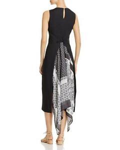 MAX MARA Weekend, Scarf Back Linen Dress, Size 8 US, 10 GB, 38 DE, 42 IT