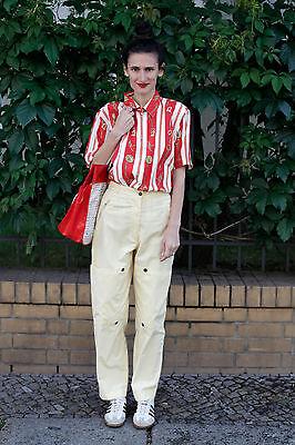 Buono Eldamo Veb Abbigliamento Fabbrica Zwickau Donna Pantaloni Pants Giallo 80er True Vintage 80s-k Zwickau Damen Hose Pants Gelb 80er True Vintage 80s It-it Mostra Il Titolo Originale Design Professionale